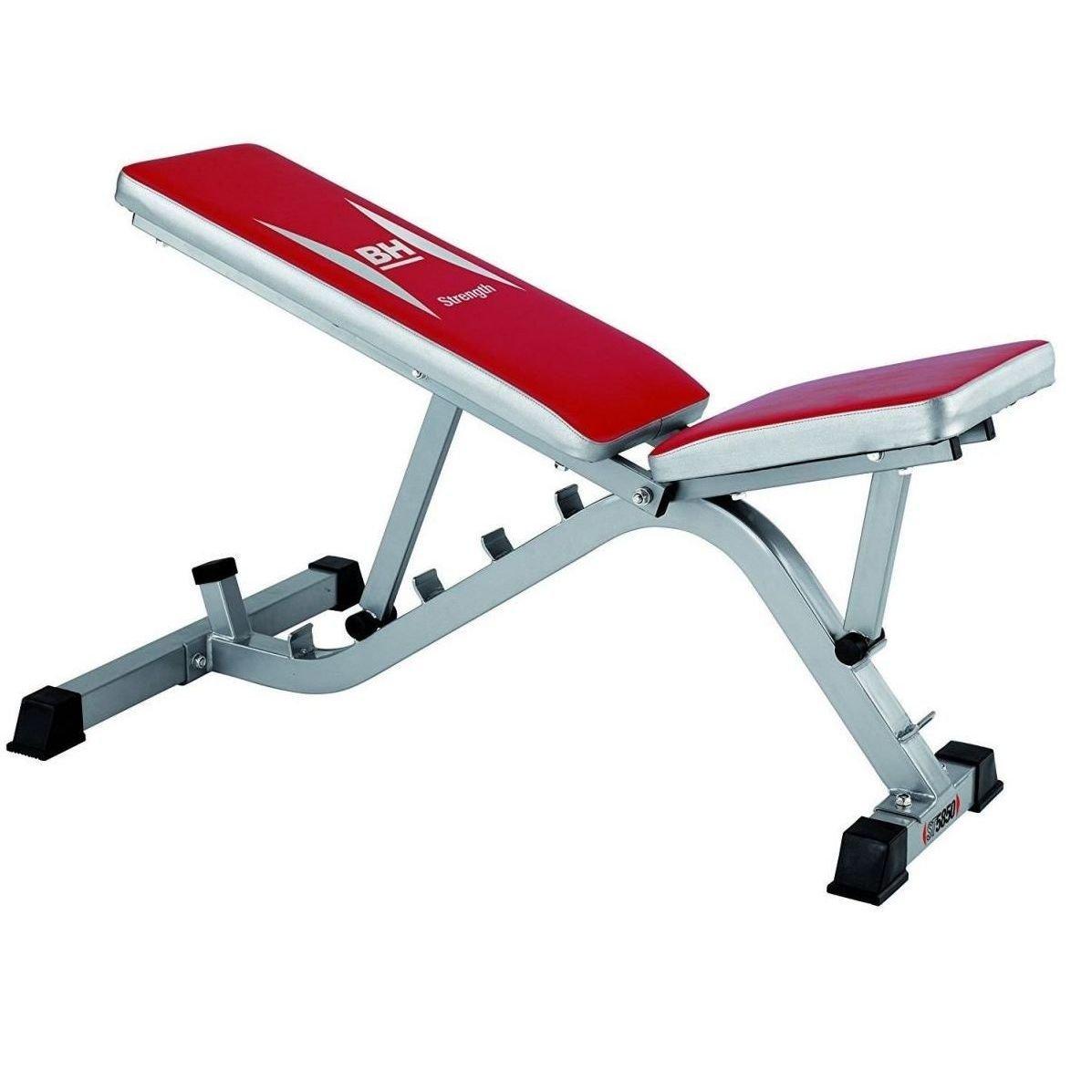 bh fitness banco abdominales multiestacion